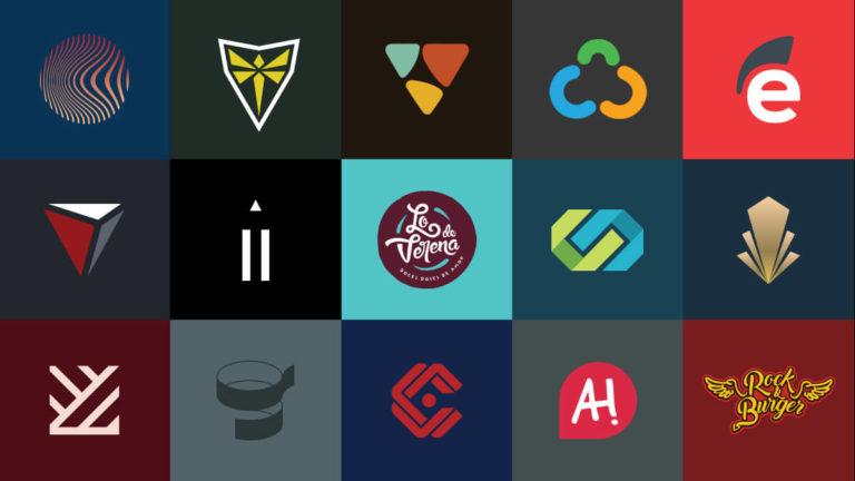 Logos criados pela Fuerza Studio